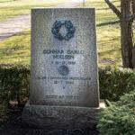 Gunnar Carlo Nielsens gravsten på Assistens Kirkegård