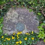 Gravsten over Henry Jensen