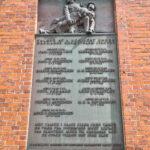 Mindetavle på Odense Kaserne