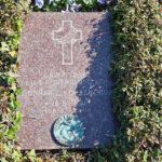 Gravsten over Gunnar Egil Korkendrup på Assistens Kirkegård