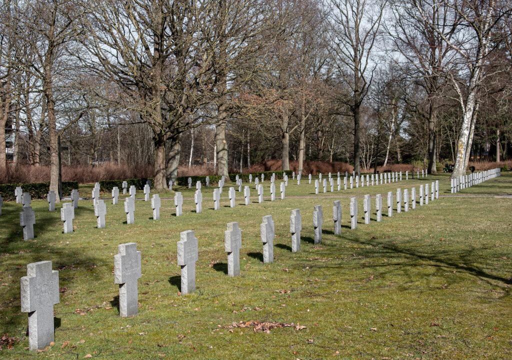 Tyske grave på Assistens Kirkegård