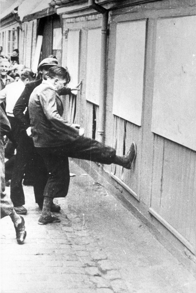Augustoprør 1943: Unge under urolighederne.