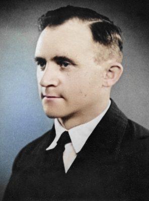 Christian Marius Petersen. Farvelagt.