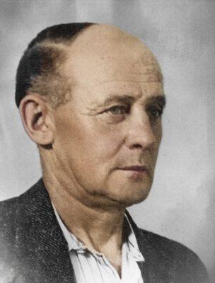 Viggo Harald Møller. Farvelagt.