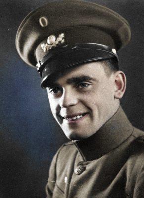 Harry Cecil Hansen (1918-1945). Farvelagt.