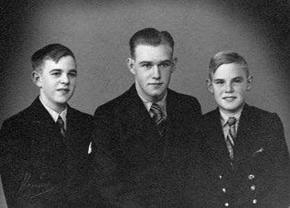 Orla Henriksen og brødre